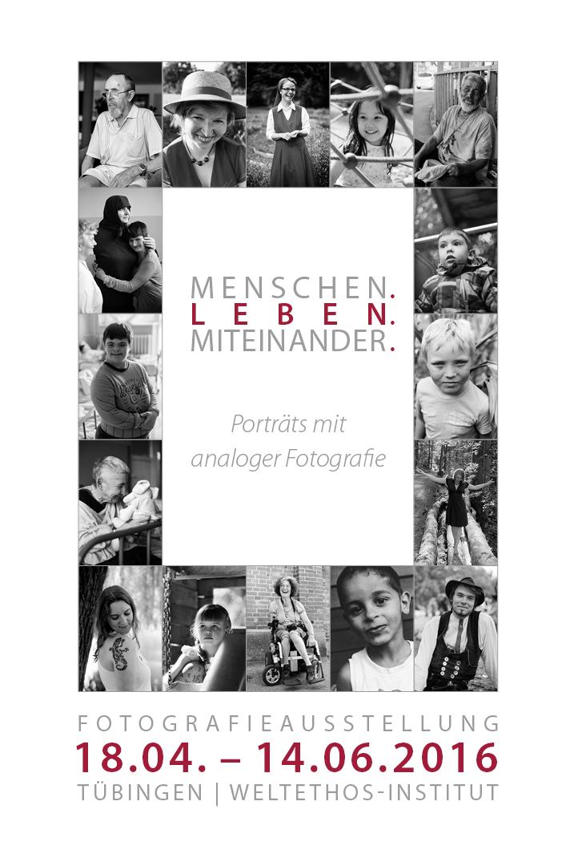 MLM Collagenplakat mit Titel und Informationen